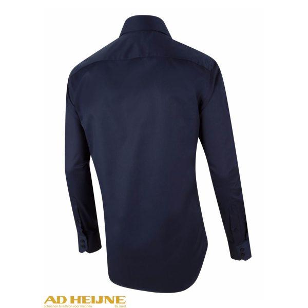 Donkerblauw Overhemd.Cavallaro Nos Overhemd D Blauw Ad Heijne