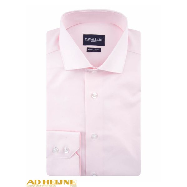 Roze Overhemd.Cavallaro Nos Overhemd Roze Ad Heijne