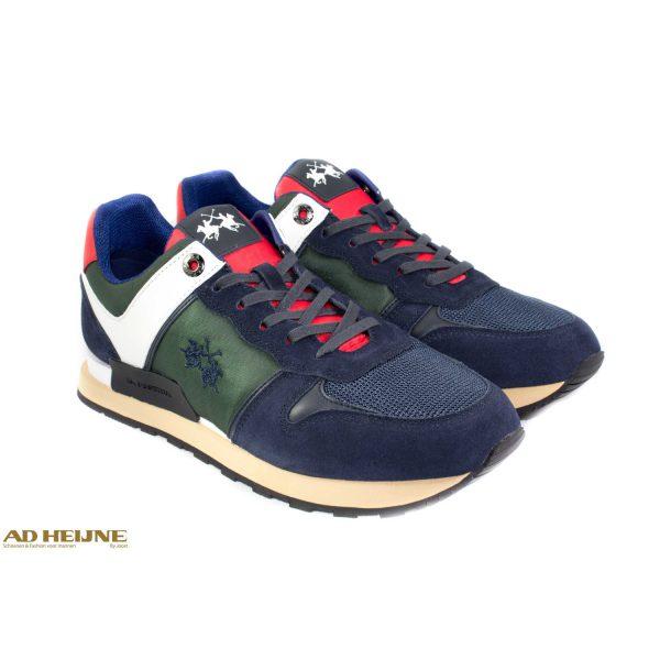 La_Martina_192010_Sneakers_blauw_groen_big_image