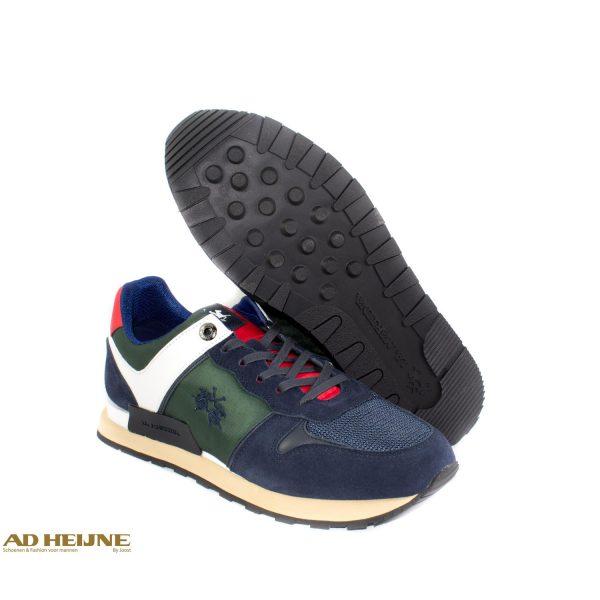 La_Martina_192010_Sneakers_blauw_groen_wit_big_image