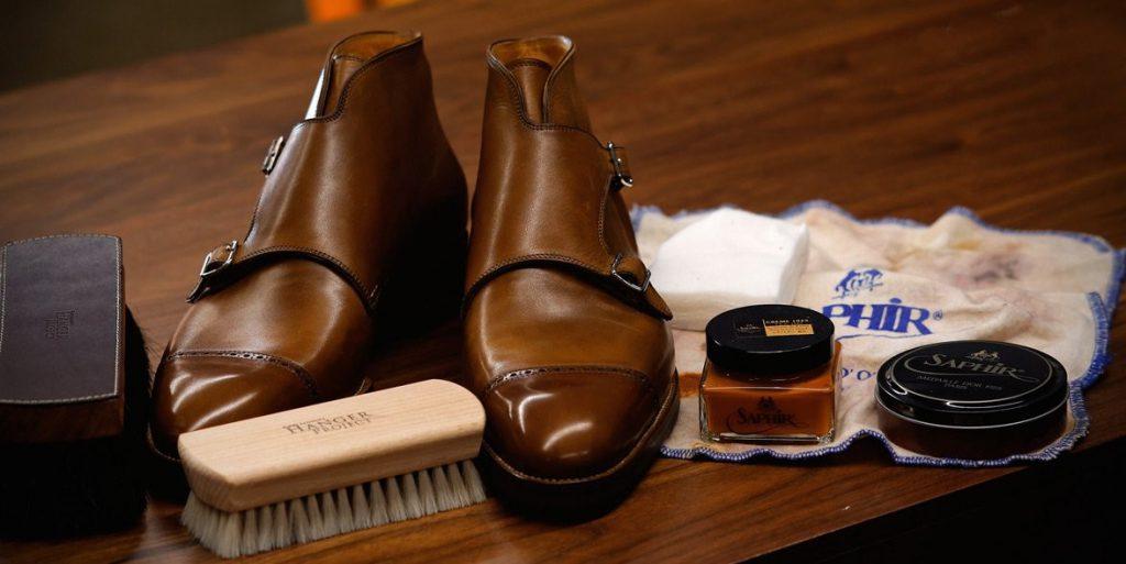 Schoenenpoetsen, belangrijke stijltip voor mannen