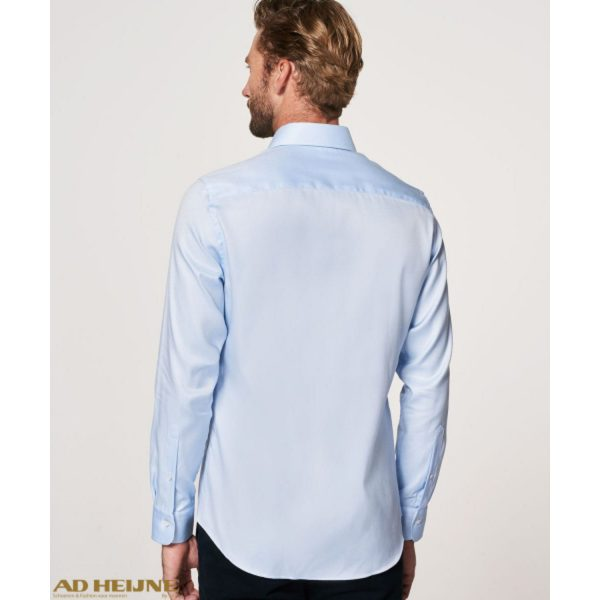 PP0H0A028_profuomo_shirt_blauw_2ply_back_big_image